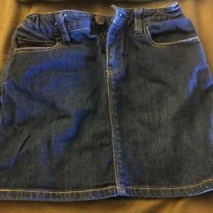 GAP Bottoms - Girl's denim mini skirt